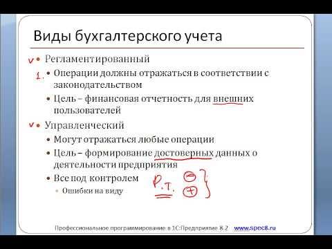 04 Виды бухгалтерского учета