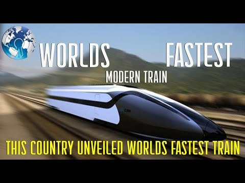 This Country Unveiled the Worlds Fastest Train for the People
