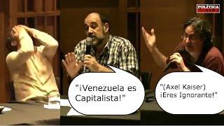 Axel Kaiser vs Socialistas   ¿Venezuela es Capitalista?