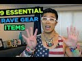 Rave Tips - MUST HAVES for EDM Festival (9 Essential Rave Gear Items)