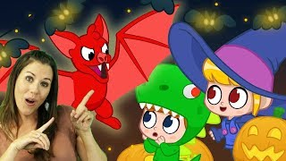 Moprhle's HALLOWEEN The Vampire! | Cartoons For Kids | My Magic Pet Morphle | Mila and Morphle