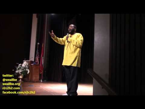 Dr. Umar Johnson BangIN IN LITtle Rock: From THE LITtle Rock 9 To NO Child Left BEhINd