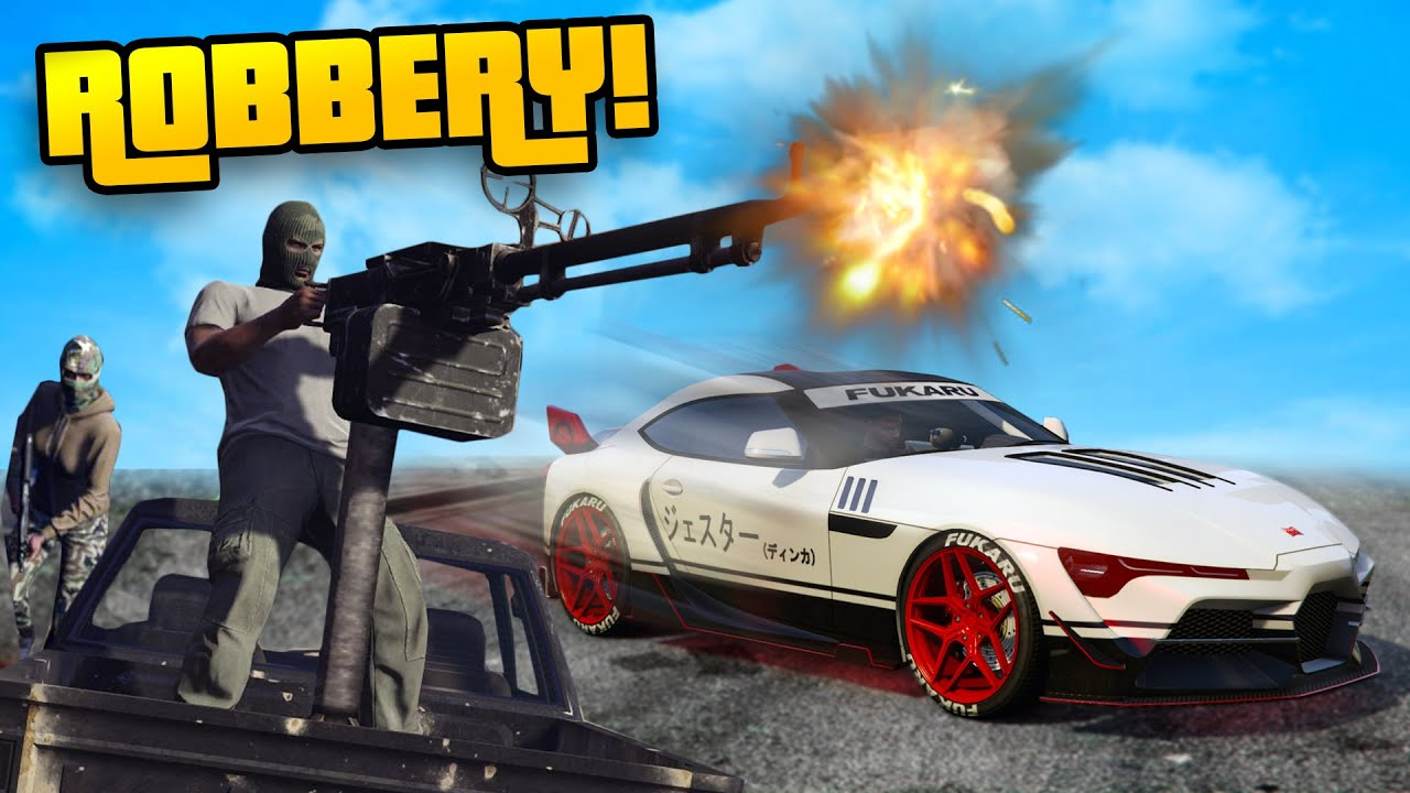 THE ROBBERY MISSION! (Los Santos Tuners Update DLC) in GTA 5 Online!