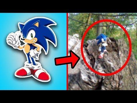 Gerçek Hayatta Kameralara Yakalanmış Kirpi Sonic - Sizce Gerçek mi Sahte mi??