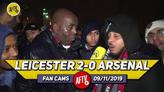 Leicester City 2-0 Arsenal | We Have Relegation Form!! Emery Needs To Go!! (Troopz)