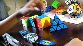 new channel solving rubik s cubes 2x2 5x5 and pyraminx