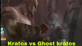 God of war : Fight with kratos ghost