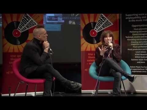 SMILEfest 2015 Viv Albertine in conversation with John Robb