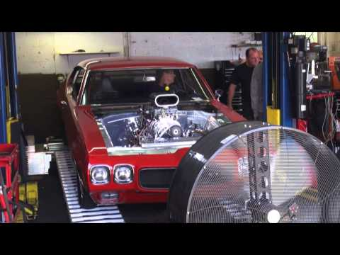 GTO 950whp 700tq 400shot of Nitrous Supercharged Dyno pull