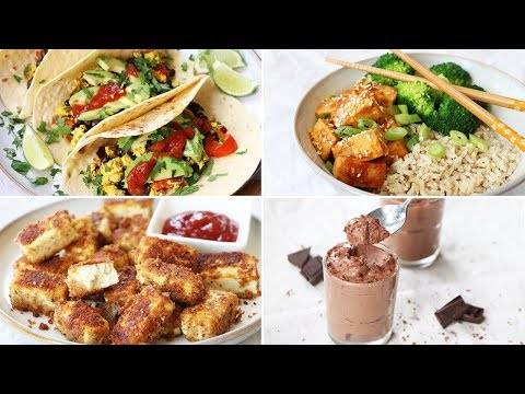 HOW TO COOK & USE TOFU | 5 Easy Ways