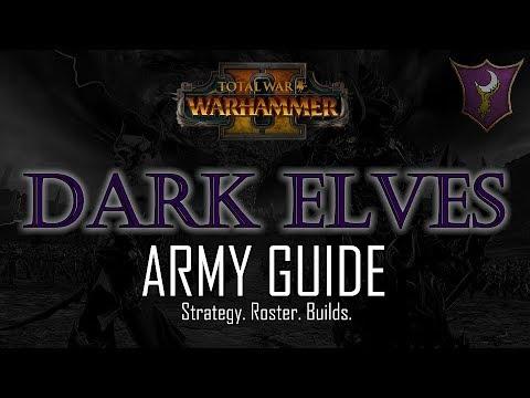 DARK ELVES ARMY GUIDE! - Total War: Warhammer 2