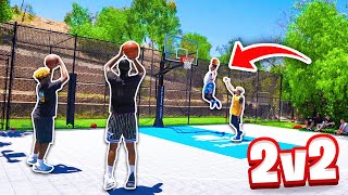 NEW 2V2 BASKETBALL GAME! - 2Hype vs. Duke Dennis & ImDavisss