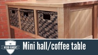 097 - Mini Hall Table