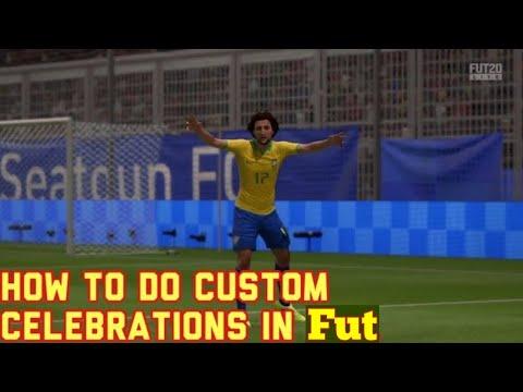FIFA 20 - How To Do Custom Celebrations On PS4/Xbox/PC - FIFA 20 Signature Celebrations On PS4 Xbox