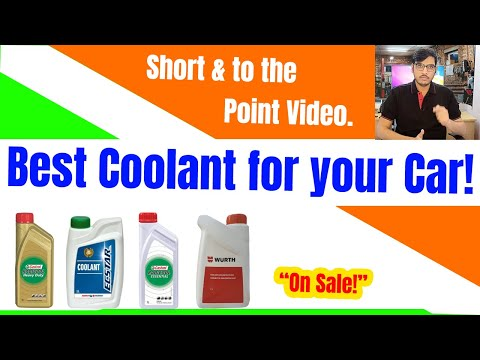 Best Coolant for car in India