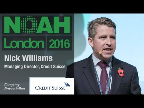 Nick Williams, Credit Suisse - NOAH16 London