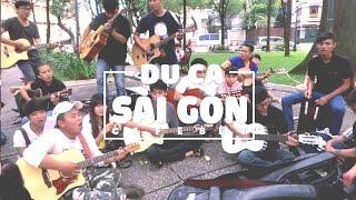 Du Ca Sài Gòn đàn hát chiều ngày 23/08/2015