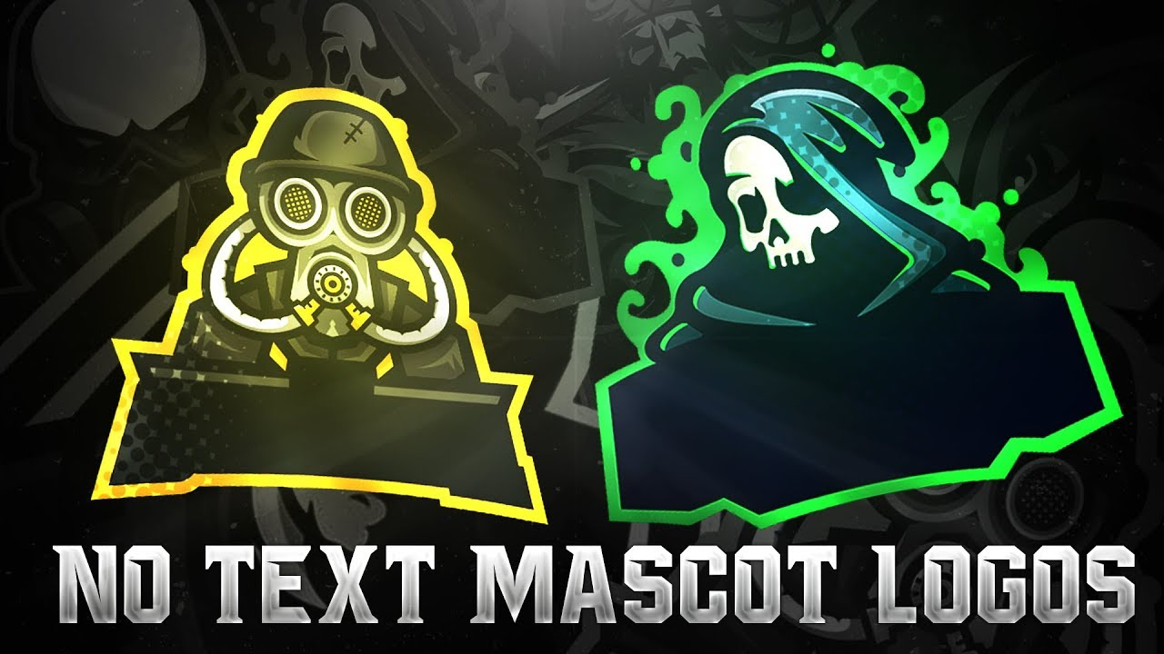 7 Logo Free No Text Mascot Logo Pack Png Youtube