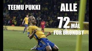 Teemu pukki   Alle mål for Brøndby IF    All goals for Brøndby IF
