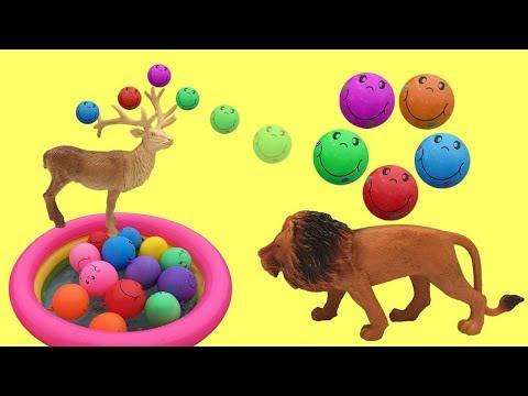 Dierengeluiden voor babys met speelgoed filmpjes nederlands