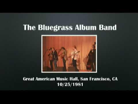 【CGUBA179】The Bluegrass Album Band 10/21/1981