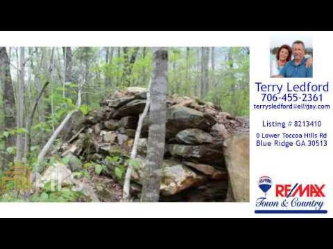 Land/Lot For Sale - 0 Lower Toccoa Hills Rd, Blue Ridge, GA