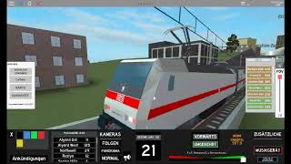 Train ride in ROBLOX with a regio train (headphone carriers make slightly quieter)