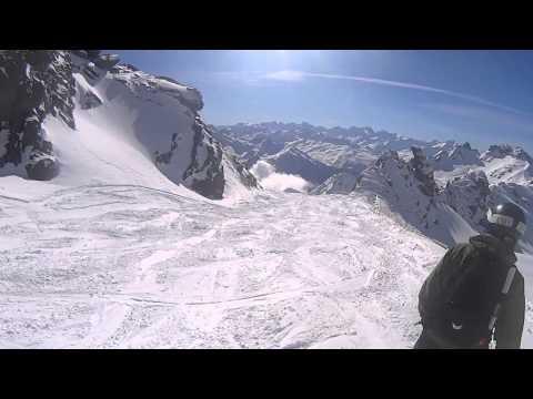 Val Thorens Off Piste 2014 - Caron-Orelle