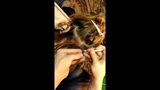 Процесс плетения натуральных дред, обучение