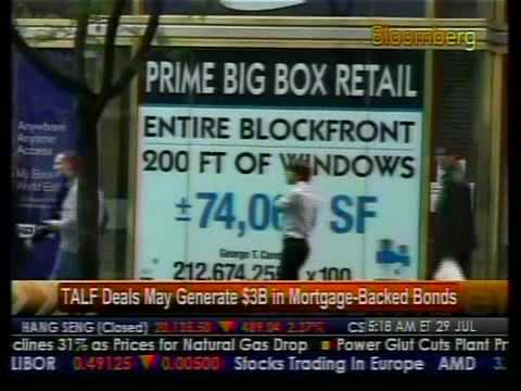 TALF Deals May Generate $3B In Mortgage-Back Bonds - Bloomberg