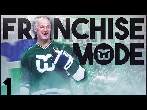 NHL 18 - Hartford Whalers Franchise Mode #1 'The Return'