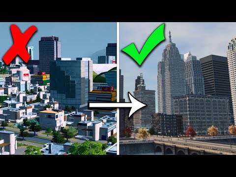 How To Make Cities Skylines Look Realistic