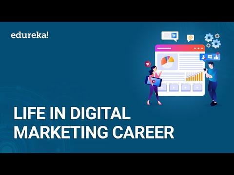 Life in Digital Marketing Career | Roles and Responsibilities of a Digital Marketer | Edureka
