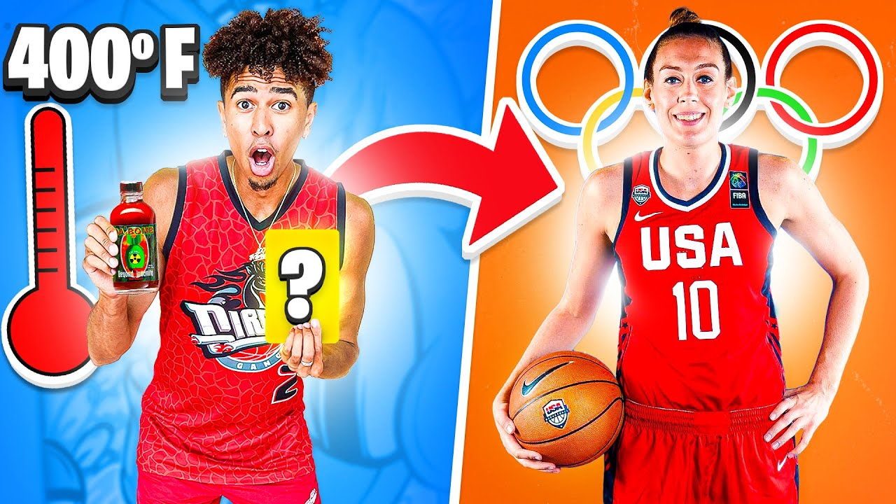 Hilarious Trivia Forfeit Challenge w/ Olympic & Paralympic Athletes
