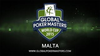2015 Global Poker Masters (gpm) Final Rounds, Day 2 – Pokerstars
