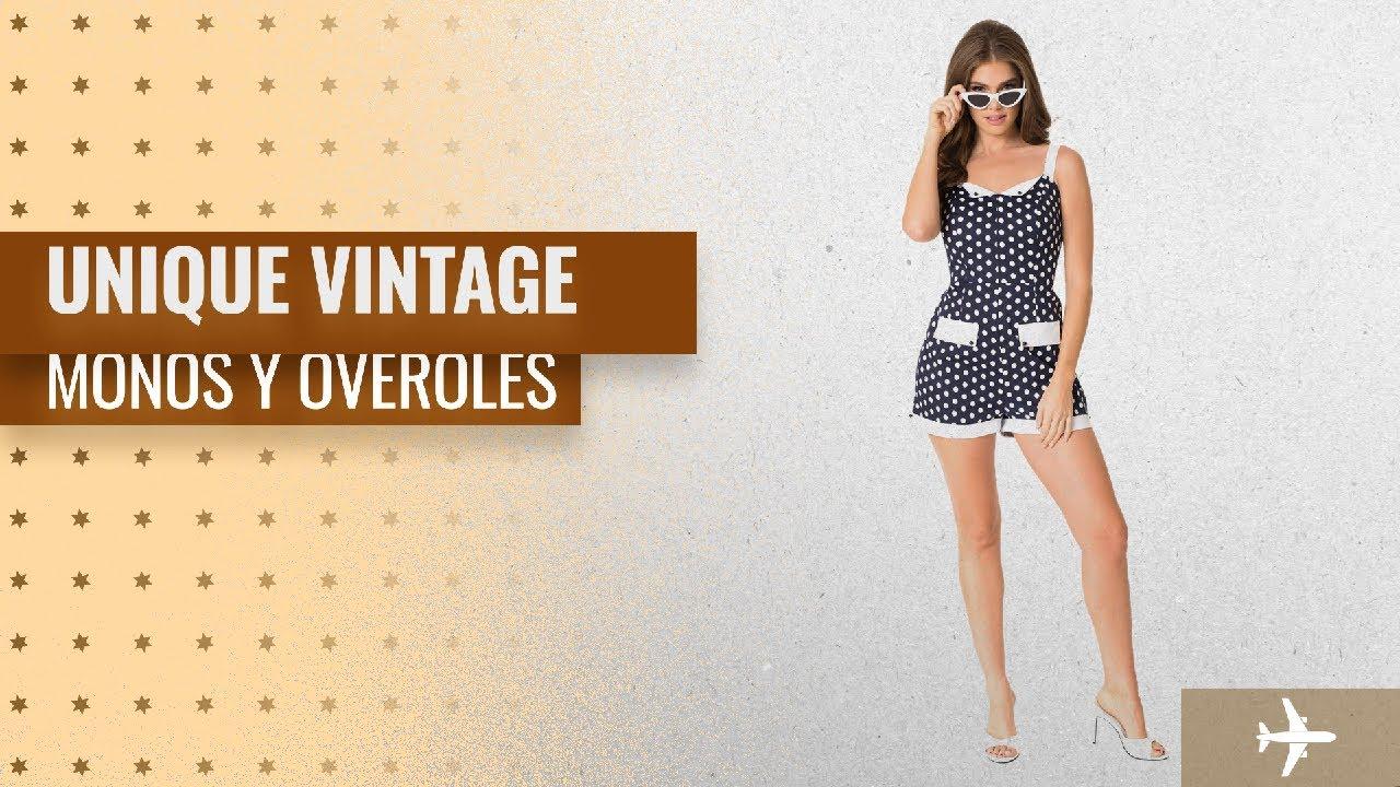 45908f755b 10 Mejores Ventas Monos Y Overoles De Unique Vintage  Unique Vintage ...