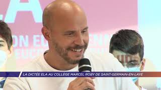 Yvelines | La dictée d'ELA au collège Marcel Roby de Saint-Germain-en-Laye