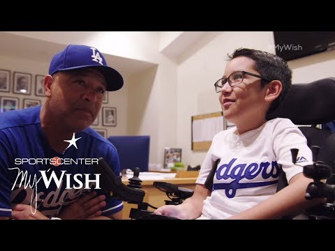 Ziggy Manages The Dodgers | My Wish | ESPN Stories