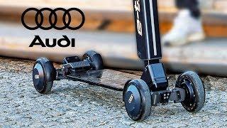 AUDI e-tron Scooter – Premium Kick-Scooter