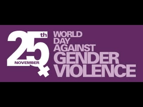 International Day for the Elimination of Violence against Women | 25th November 2016