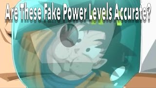 Dragon Ball Z Fake Power Levels : Are These Accurate?