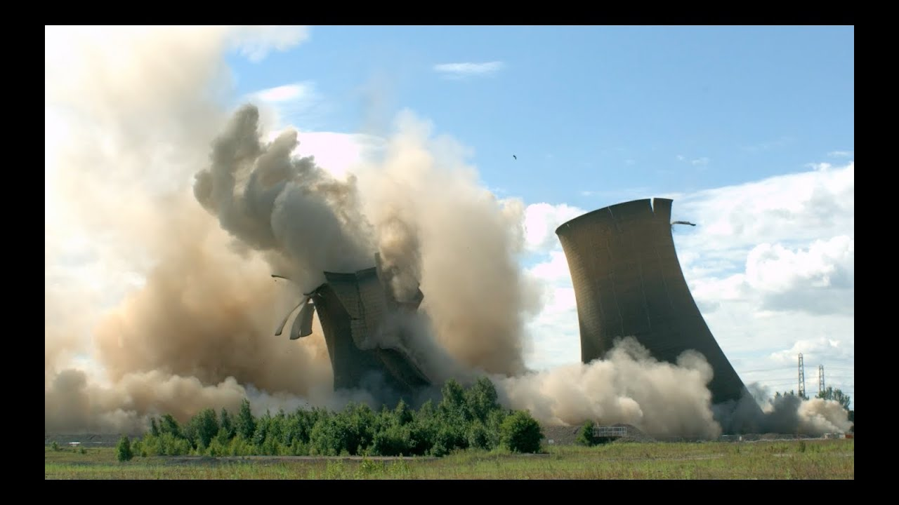 Wallpaper Falling Off Towers Collapsing In Slow Motion The Slow Mo Guys Youtube