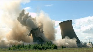 Towers Collapsing in Slow Motion - The Slow Mo Guys thumbnail