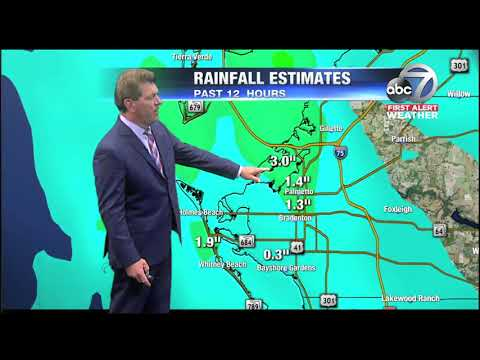 Video: First Alert Weather - 11pm May 21, 2018
