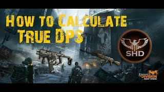 The Division | How To Calculate True/Raw DPS | Why The In Game DPS Is Wrong