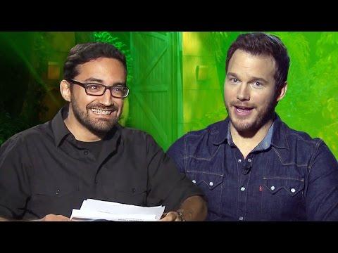 CHRIS PRATT Exclusive Jurassic World Interview w/ Hector Navarro