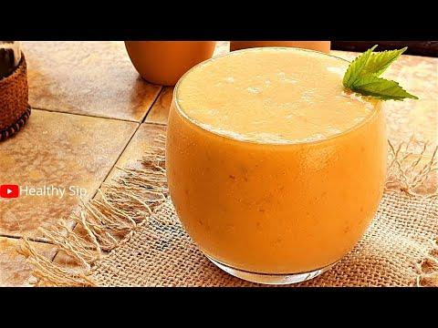 yummy-apricot-peach-smoothie-|-smoothie-recipes-|-peach-smoothie-recipe