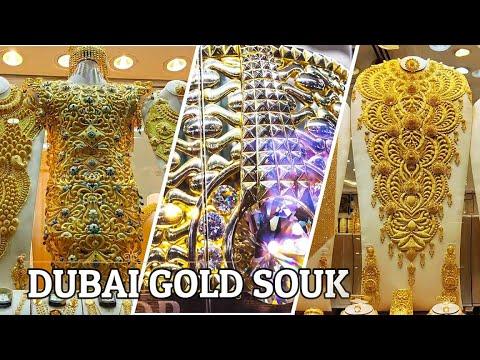 DUBAI GOLD MARKET| CITY OF GOLD | Deira Gold Souk Dubai | Heaviest Gold Ring