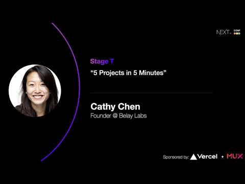 5 Projects in 5 Minutes - Cathy Chen (Belay Labs)