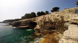 Cliff Jump Croatia Pula Stoja